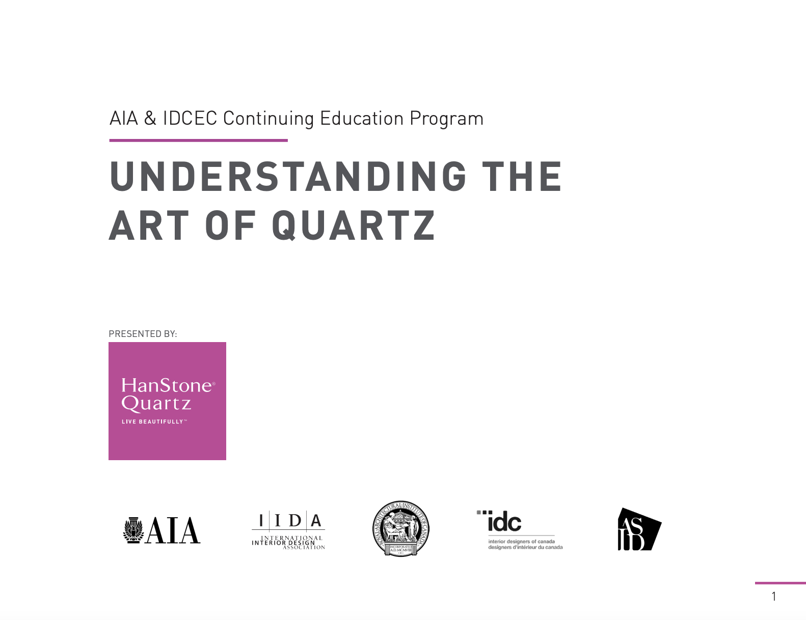 CEU: The Art of Quartz
